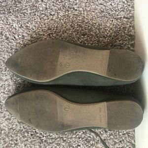GAP Shoes - Forest Green Gap Flats